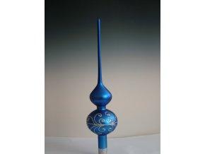 ST modrý dekor spirály