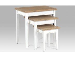 Dřevěné stolky | sada 3ks
