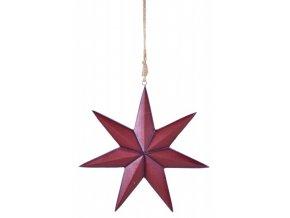 Hvězda|k zavěšení|37x21x5cm