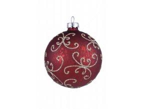 Vánoční ozdoby|s ornamentem|4kusy