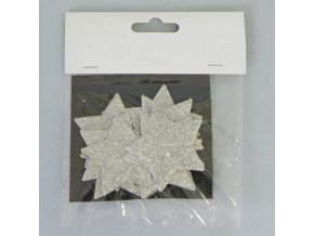 hvezdicka prizdoba s 12 stribrna