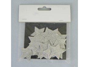 hvezdicka prizdoba s 24 stribrna