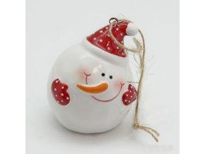 snehulak keramika bily A100000102BD
