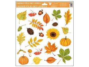 Okenní fólie | podzim | 30x30cm