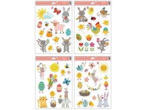 Okenní fólie | Veselé Velikonoce | 34x26cm