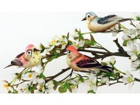 Ptáček s klipem | sada 3ks | 11cm