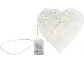 Svítící srdce, 10 LED