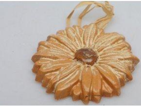 Keramická slunečnice malá