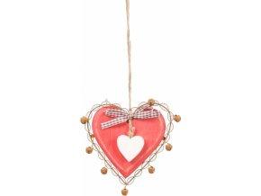 Srdce na zavěšení M