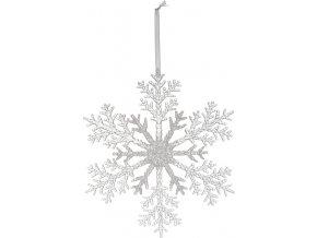 Sněhová vločka 26 cm