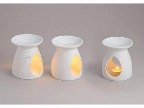Bílá aroma lampa | 10cm