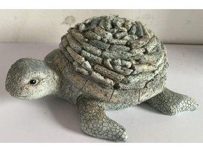 Želva | dekorace polyresin | 17x12x6cm