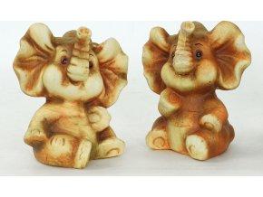 Slon, keramická dekorace