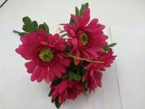 Květina umělá   gerbera puget