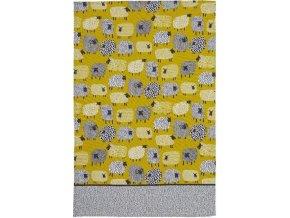 Kuchyňská utěrka | bavlna | Dotty sheep | 48x74cm