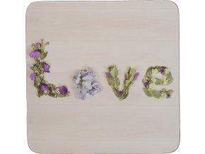 Korkové podtácky | Floral Love