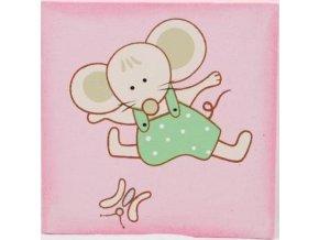 Obrázek | dětský | s myškou | na plátně