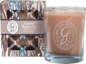 Vonná svíčka Amber Warmth v dárkové krabičce