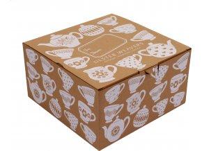 Papírová dárková krabička Ulster Weavers