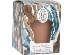 Votivní svíčka Amber Warmth