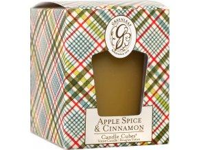 Votivní svíčka Apple Spice & Cinnamon