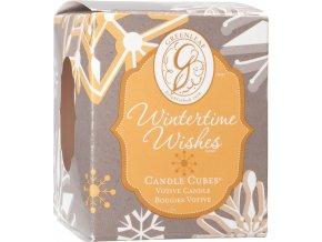 Votivní svíčka Wintertime Wishes