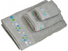 Froté osuška a ručníky | bavlna | sada 3ks