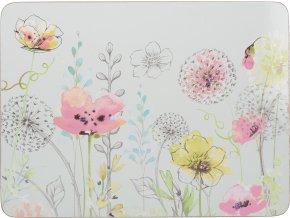 Prostírání | korkové |  Watercolour Sketch | sada 4ks