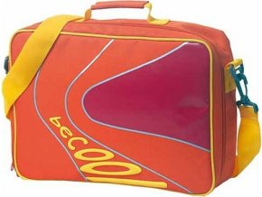 Taška přes rameno BeCool oranžovo-žlutá, Schneiders
