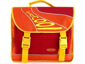 Školní taška BeCool oranžovo-žlutá, Schneiders