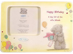 Fotorámeček Me to You Fotorámeček 7,5x6,5cm Happy Birthday