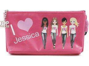 Školní penál taštička Top Model | Jessica