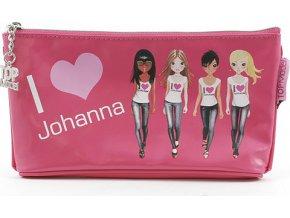 Školní penál taštička Top Model | Johanna