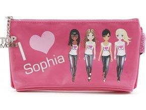 Školní penál taštička Top Model | Sophia