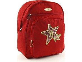 Studentský batoh | Hollywood Milano | červený | 36x29x15cm