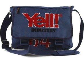 Taška přes rameno | Yell |  modrá | 31x38x10cm