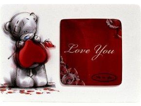 Fotorámeček Me to You Fotorámeček mini obrácené srdce Sketchbook
