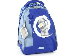 Školní batoh Me to You 2 kapsy modrá