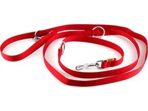 B & F Vodítko přepínací popruhové 2,4m 2,0x240cm červené