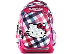 Školní batoh na zip | Hello Kitty | barevné kostky