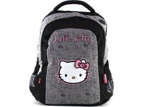 Školní batoh Hello Kitty | šedá
