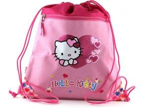 Sportovní vak Hello Kitty růžový