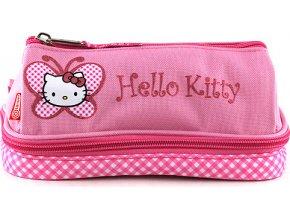Školní penál | Hello Kitty růžový