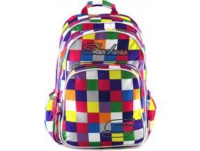 Studentský batoh Skechers | barevné kostky