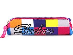 Školní mini penál | Skechers | barevné kostky