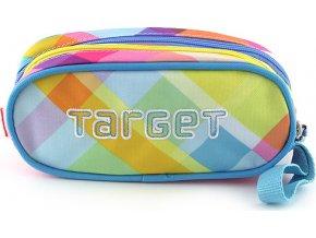 Školní penál Target | Pastelové barevné kostky