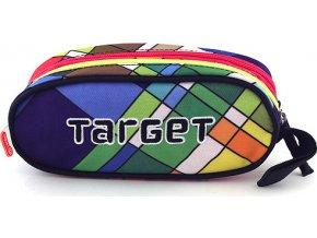 Školní penál Target | Sytě barevné obdélníky