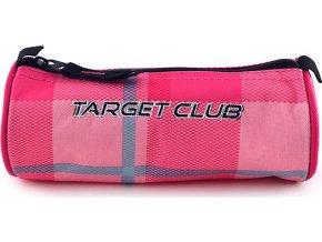 Školní penál Target | Růžové kostky