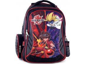 Školní batoh | chlapecký | černo-červený