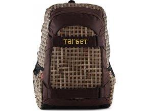 Target Sportovní batoh hnědo-žlutý